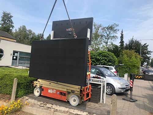 Huren LED trailer
