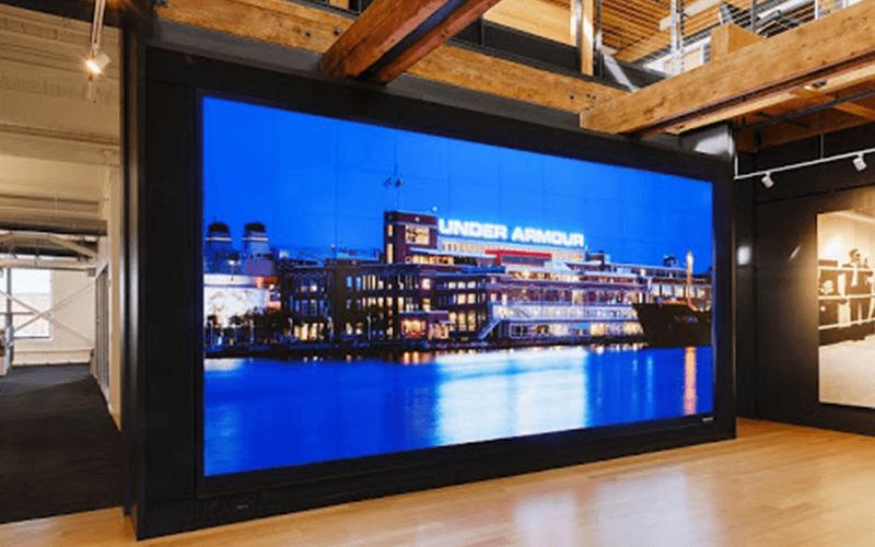 indoor scherm